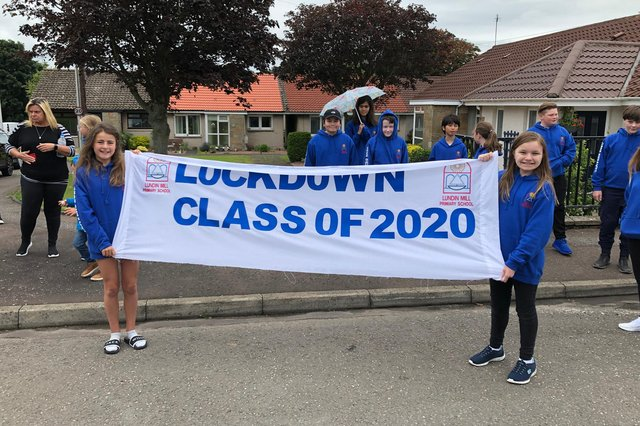 The P7s last year were given a special send-off.