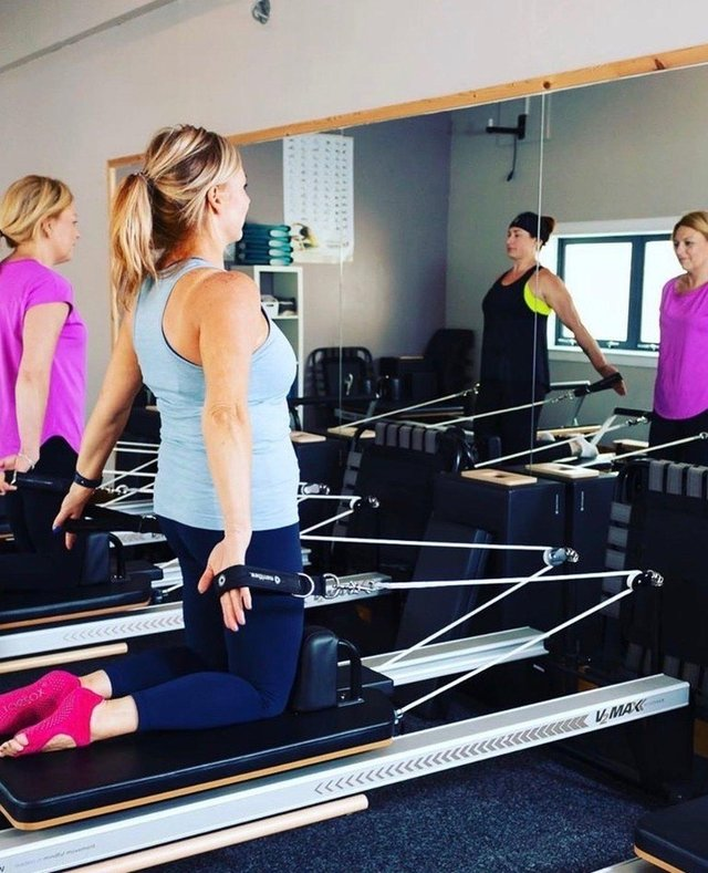 Mind and Body Studio owner Susan Simpson has been able to offer Reformer Pilates drop in sessions for two weeks now.