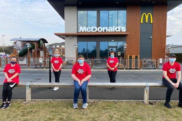 McDonald's Bankhead Park employees.