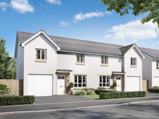 Barratt Homs has unveiled a 242 homes at Kingslaw Gait,  Kirkcaldy, adjacent to the Kingdom Park development