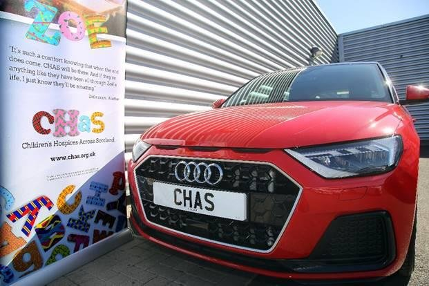 Fifers can win a brand new Audi A1 worth £25,000 in an exclusive prize draw in aid of Children's Hospices Across Scotland.