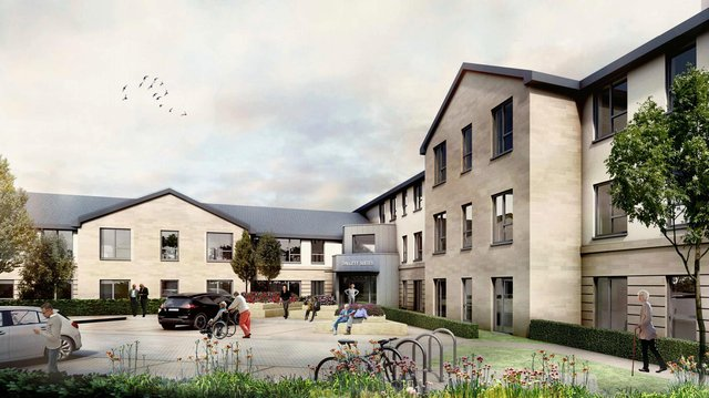 The planning application for the proposed luxury care home development on Habour Way in Dalgety Bay was recently validated by Fife Council (Image credit: CCG)