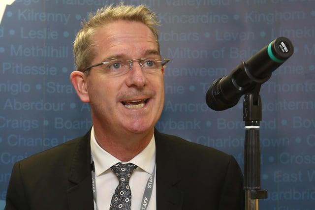 Steve Grimmond, chief executive, Fife Council