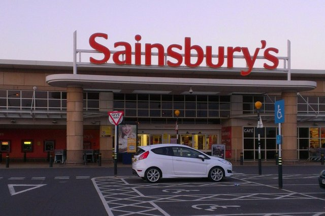 Paterson stole alcohol from Sainsbury's in Kirkcaldy.