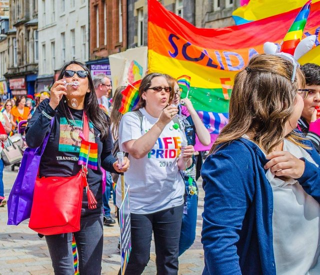 This year's Fife Pride will take place online with various music acts and entertainment.