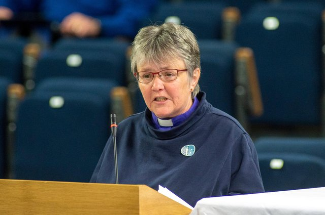 Very Rev Dr Susan Brown presented the report of the Faith Impact Forum