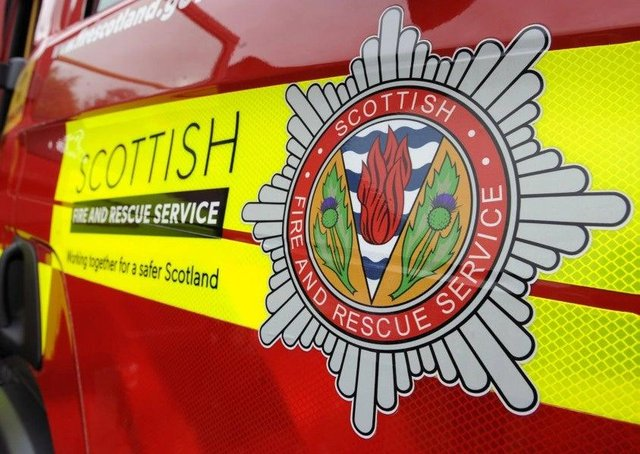 An investigation is underway after a man died following a fire in a Fife flat.