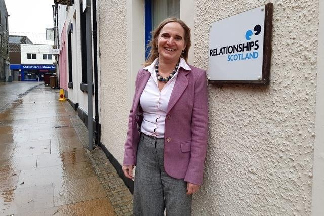 Mieke van der Zijpp, manager of Couples Counselling Fife