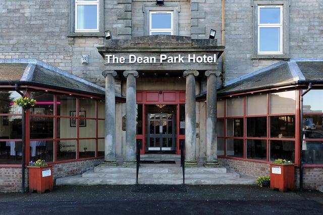 Dean Park Hotel, Kirkcaldy (Pic: Fife Photo Agency)