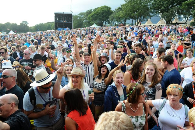 Organisers of the 2021 Party at the Palace in Linlithgow have been forced to cancel the festival.   Pic: Michael Gillen.