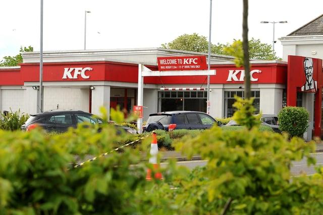 KFC, Kirkcaldy (Pic:  Fife Photo Agency)