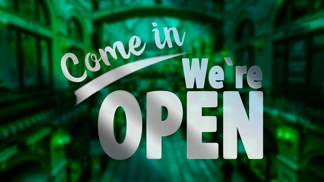 Business re-opens on Monday April 26