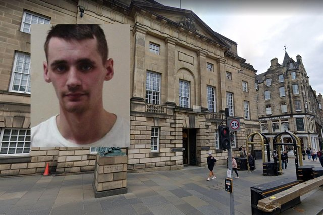 Jason Mooney, inset,and Lynn Kelly were on trial at the High Court in Edinburgh.