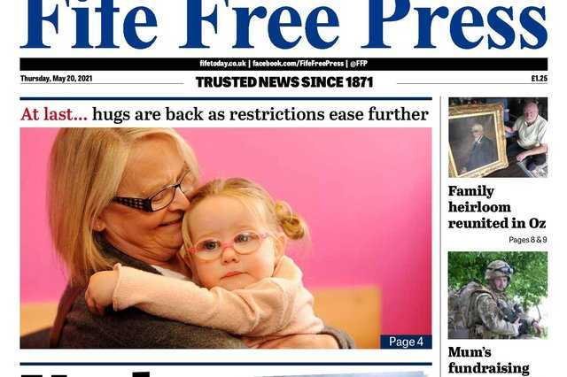 Fife Free P:ress front page