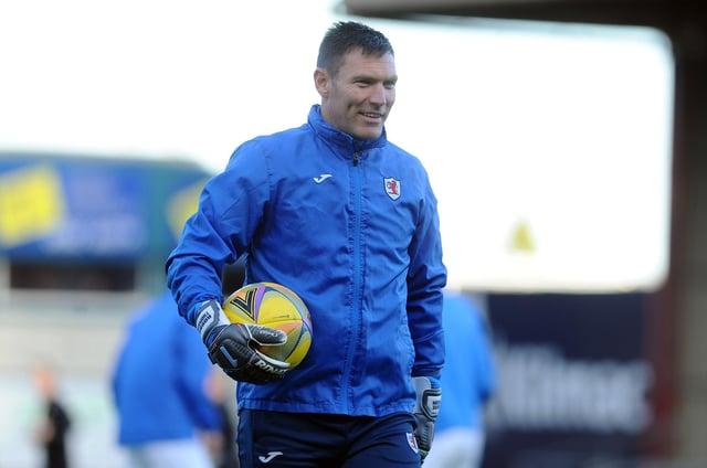 David McGurn before kick off on Saturday at Dens Park (Pic: Michael Gillen)
