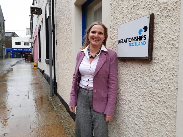 Mieke van der Zjipp, manager of Couples Counselling Fife (RSCCF), based in Kirkcaldy