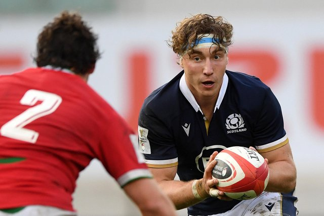 Jamie Ritchie will skipper Scotland in this summer's tests. (Photo by Stu Forster/Getty Images)