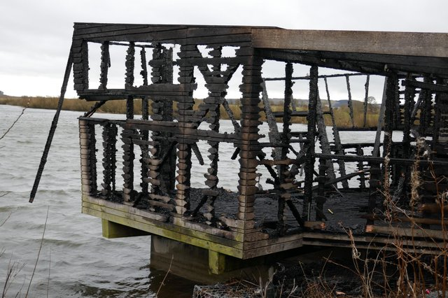 Mill Hide, a popular spot for bird-watchers at the Loch Leven national nature reserve in Fife, was completely gutted in a fire last month that was thought to have been started deliberately