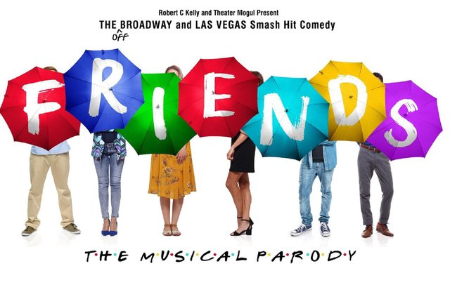 Friends: The Musical Parody is coming to Fife