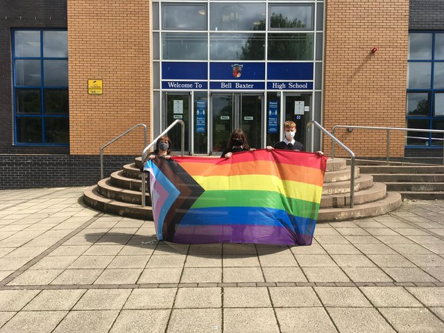 The school is marking the start of Pride month.
