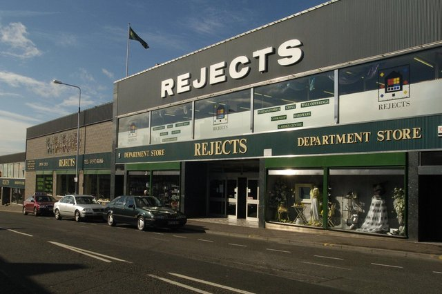 Rejects, St Clair Street, Kirkcaldy