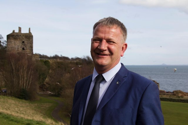 Kirkcaldy MSP David Torrance