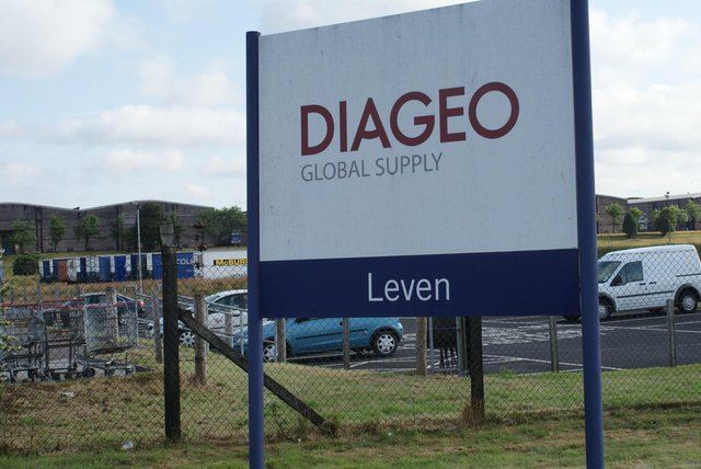 The Diageo plant in Leven.