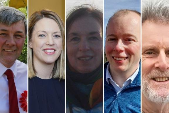 The Mid Fife and Glenrothes candidates