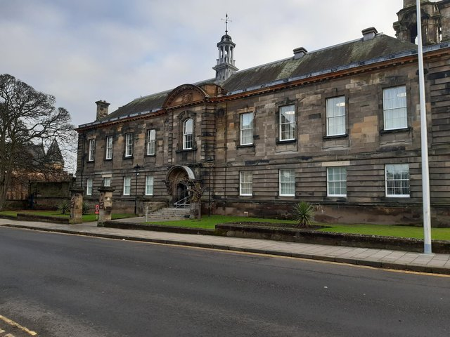 Robertson was jailed for 32 weeks at Kirkcaldy Sheriff Court.