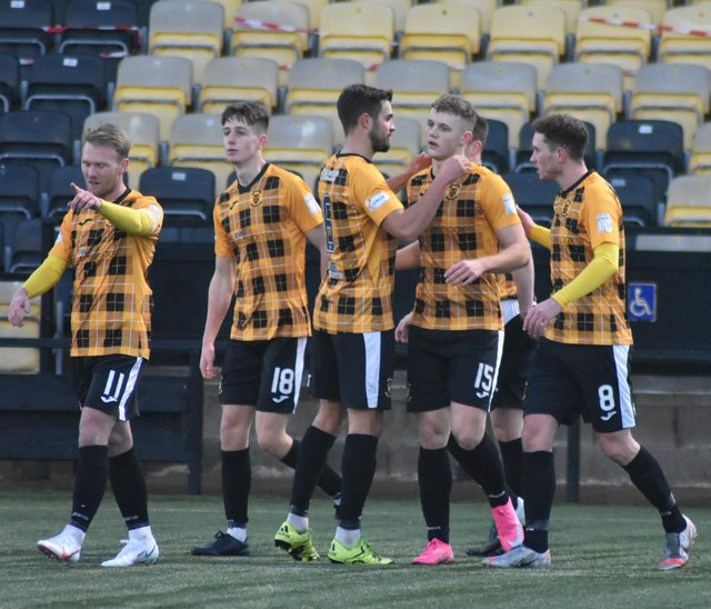 East Fife have been given permission to resume their League One campaign. Pic by Kenny Mackay
