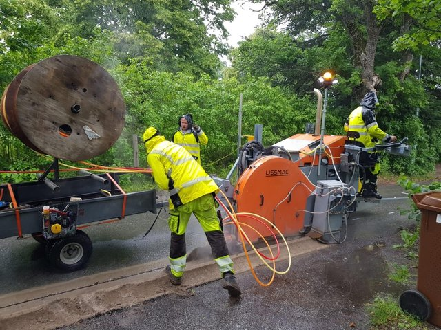 More than 61,200 households and businesses across Fife were reached by the £463 million Digital Scotland Superfast Broadband,