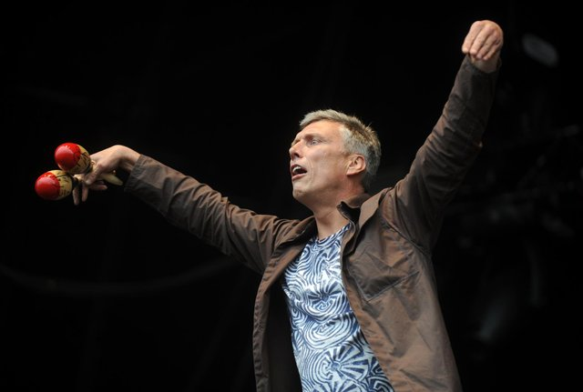 Bez pictured at  T In The Park music (Pic: Jane Barlow)