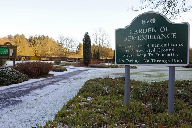 Garden of Remembrance at Kirkcaldy Crematorium, Kirkcaldy