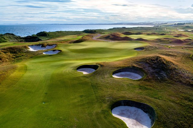 Dumbarnie Links has a growing reputation as one of the country's finest new courses