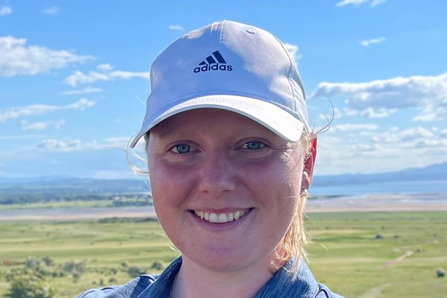 Chloe Goadby, from St Andrews, couldn't force her way to the top of the leaderboard. Pic by Scottish Golf