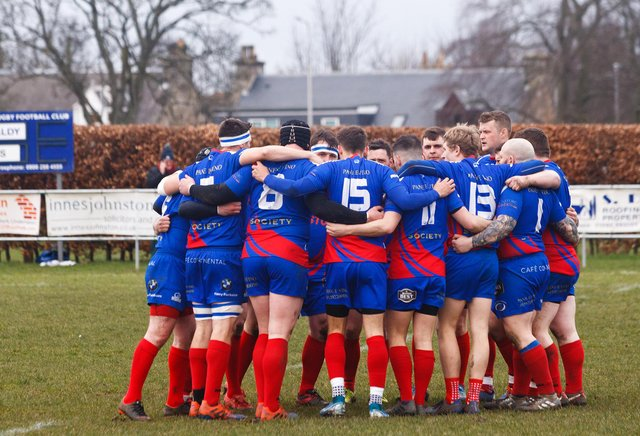 KIrkcaldy Rugby Club have been given the green light to start the new season in September (Pic; Michael Booth)