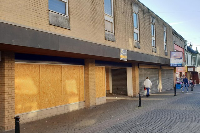The former WHSmith store in Leven.