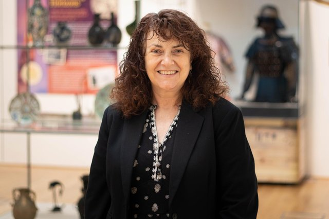 Christine McLean, head of cultural heritage and wellbeing, at OnFife