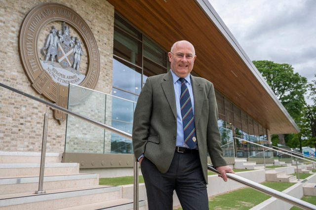 Chairman Bill Gray is delighted that the Scottish Government is supporting this year's RHS Showcase.