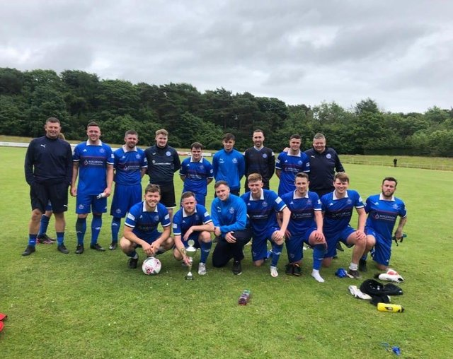 Dundonald Bluebell, winners of the Willie Drew Memorial Trophy last weekend, will kick off the new league season at home