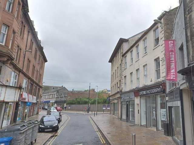 The new development will see three new flats built in the east end of the High Street.