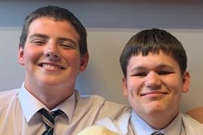 Callum and Logan.