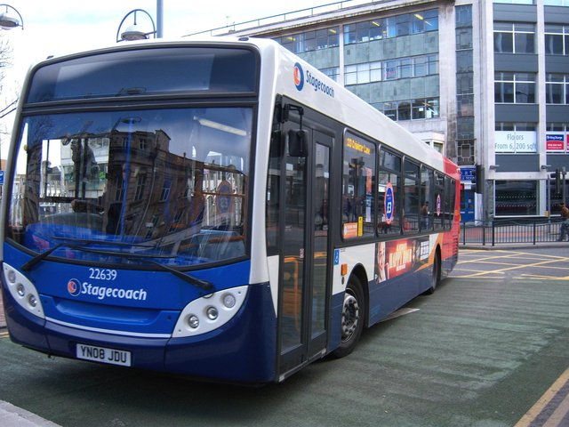 Bus services in north east Fife could be improved.