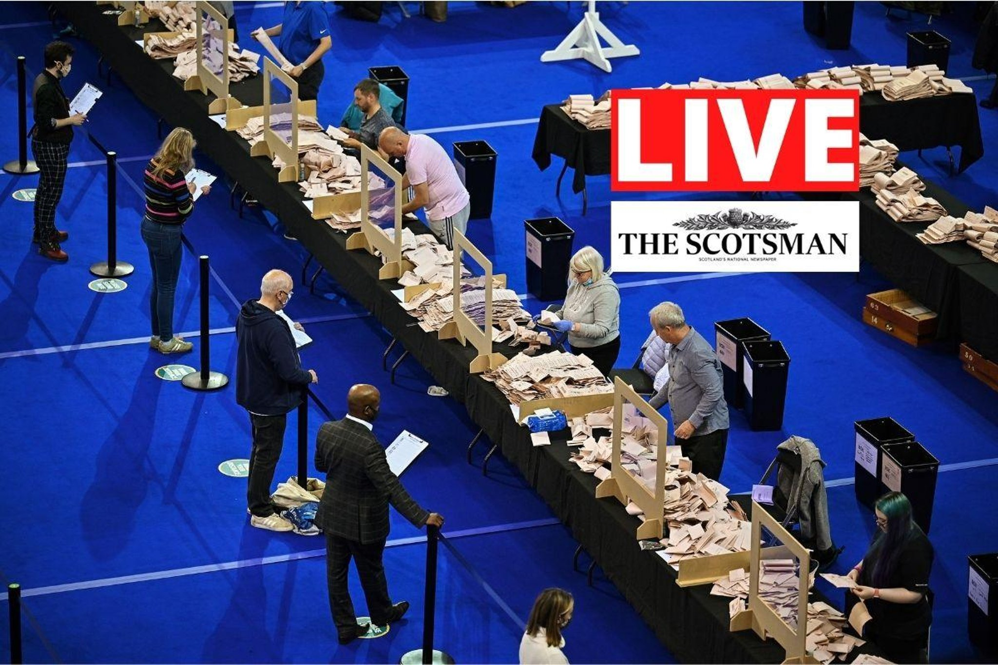 Scottish Election 2021 LIVE: Election results and updates from across Scotland