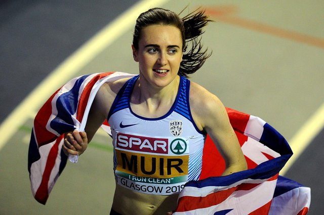 Laura Muir won in impressive fashion over the weekend. Picture by Michael Gillen